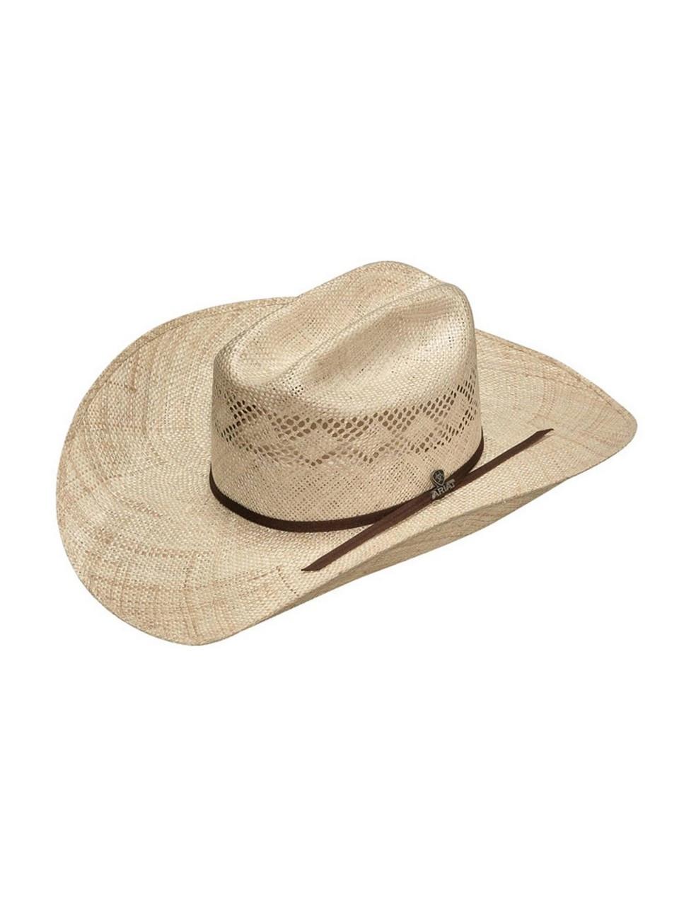 ARIAT Sisal Punchy Hat