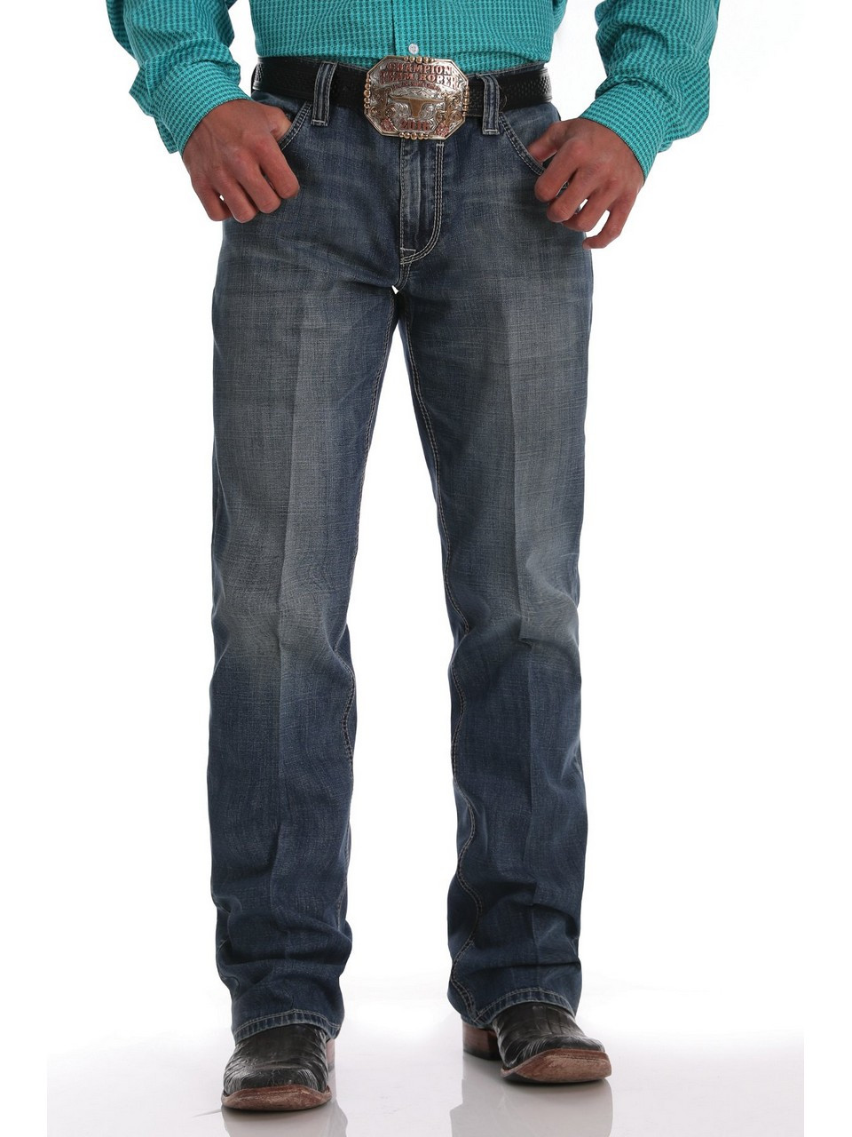 Calligrafia segretario condizione indispensabile  Cinch® Mens' Relaxed Fit Carter 2.0 Medium Stonewash Jeans - Eli's Western  Wear