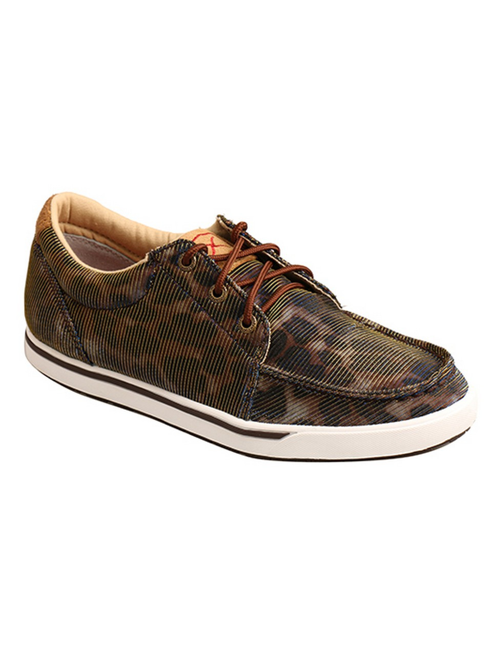 Twisted X® Ladies' Shiny Leopard/Brown