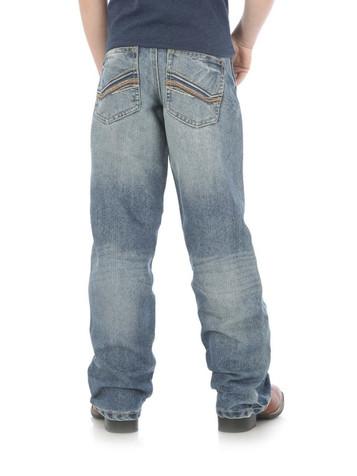 Wrangler 20X Men/'s No 33 Kingman Extreme Relaxed Fit Straight Leg Jeans Blue