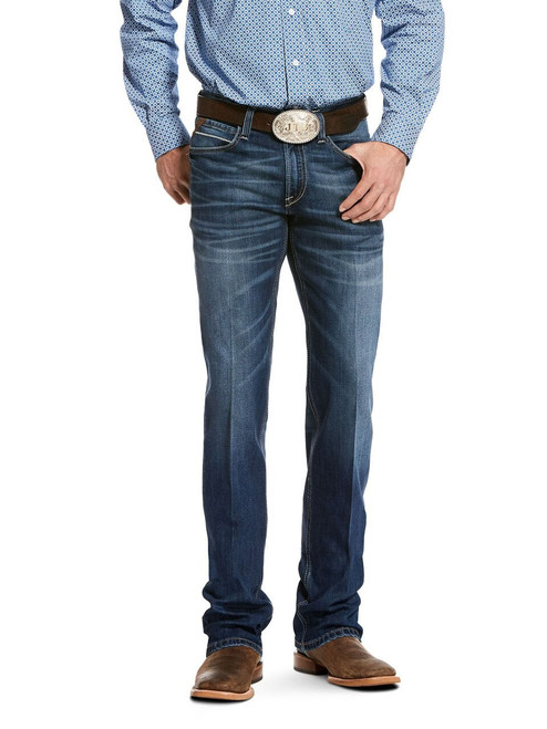 Sale Ariat Men S Ford M4 Low Rise Stretch Chandler Cooling Bootcut Jeans