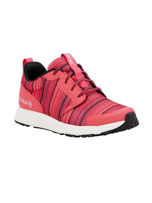Ladies' Fuse Pink Serape Mesh Tennis Shoes