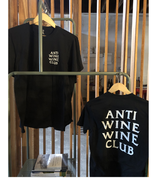 'Anti Wine Wine Club' Tshirt