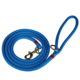 Maine Dock Line Dog Lead in Blue with Red Trim