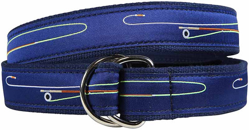 Fly Rod & Reel D-ring Belt