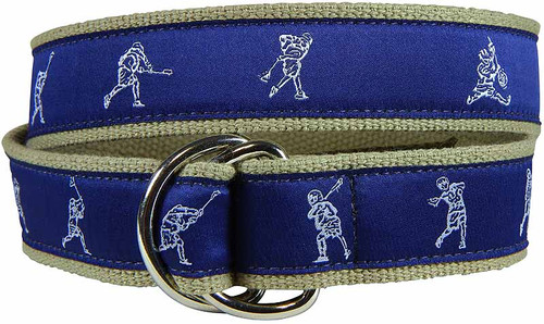 Lacrosse Player D-ring Belt
