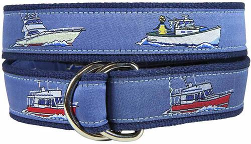 Powerboats D-ring Belt