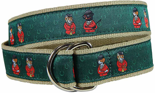 Fox & Hound Hunt D-ring Belt