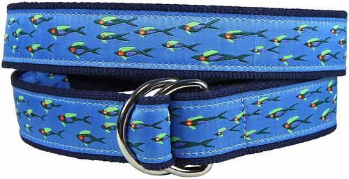 Eric Hopkins Fish School D-ring Belt