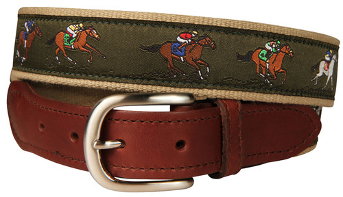 Horse Racing Belt