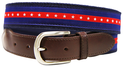 Patriotic Stripe Belt