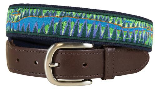 Hopkins North Woods Leather Tab Belt