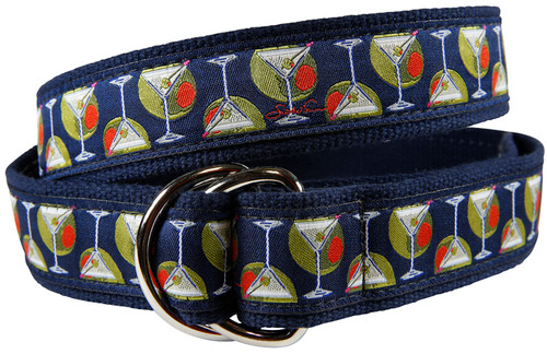 Martinis & Olives D-ring Belt