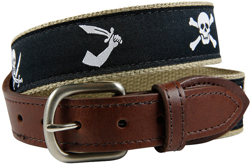 Youth Pirate Flag Belt