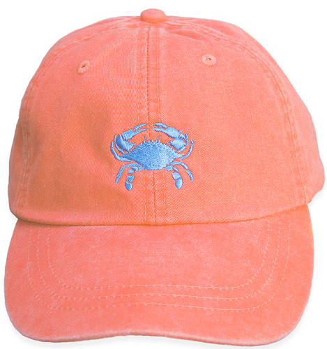 Crab Hat on Coral