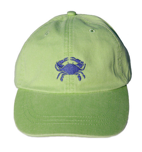Crab Hat on Lime