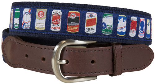 Cheap Buzz Leather Tab Belt