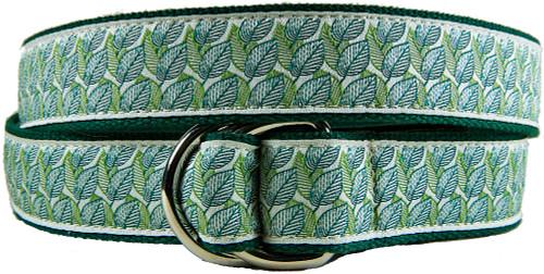 Beech Leaf D-ring belt
