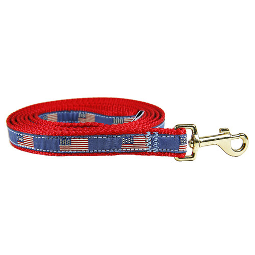 Historical American Flags Dog Lead