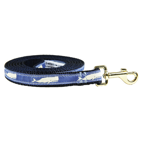 Moby Whale (Blue) Dog Lead