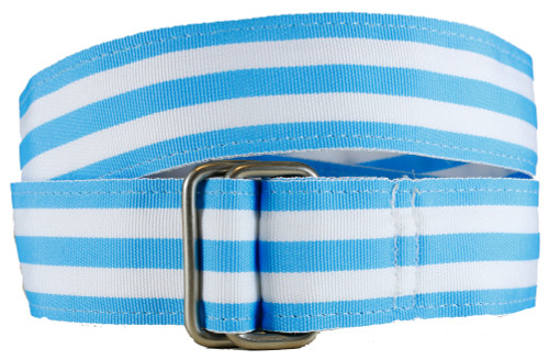 Light Blue Grosgrain Belt