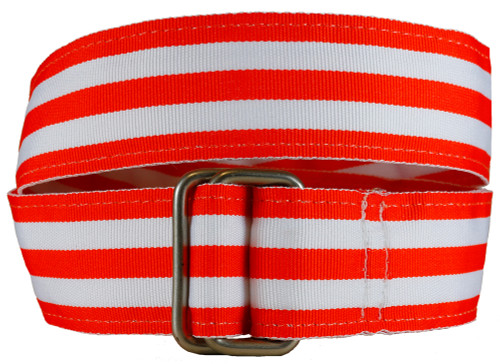 Orange Grosgrain Belt