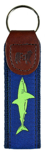Shark (Lime) Key Fob