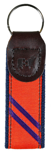 Orange & Purple Key Fob