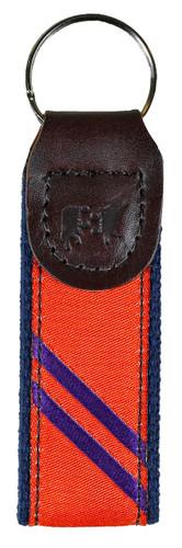 Orange & Purple Key Fob