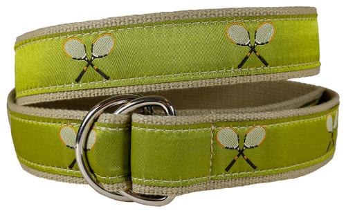 Vintage Tennis D-Ring Belt