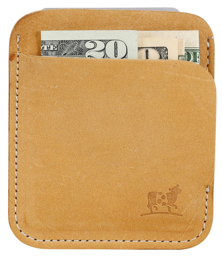 Portland Wallet in Camel Nubuck Leather
