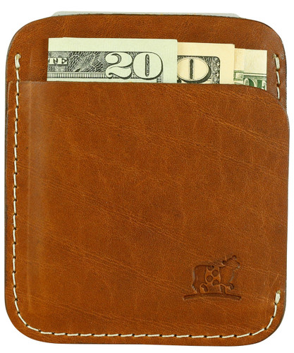 Portland Wallet in Cognac Bridle Leather