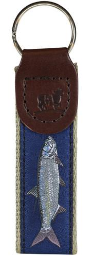 Tarpon (marine blue) Key Fob