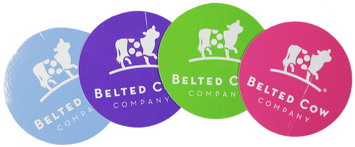 Belted Cow Sticker 4-Pack