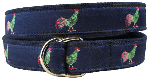 Rooster in Hi Tops Youth D-ring Belt