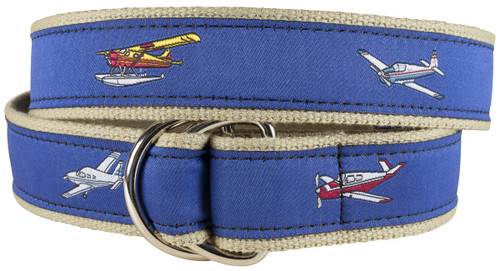 Airplanes Youth D-ring Belt