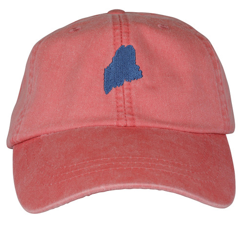 State of Maine Hat on Coral