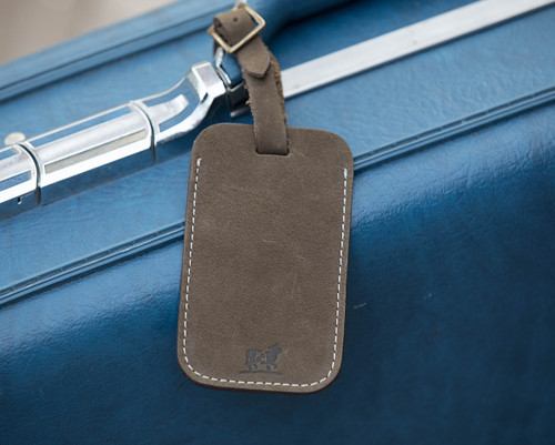 Down East Luggage Tag (Seal Nubuck)