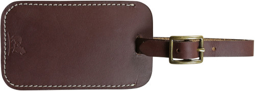 Down East Luggage Tag (Brown Latigo)