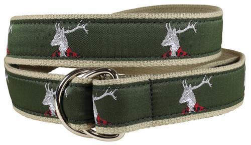 Dapper Stag D-ring Belt
