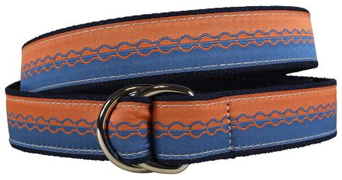 Retro Bike Chain D-ring Belt