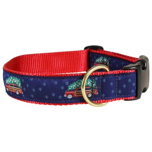 "Woodie & Tree 1.25"" Dog Collar"