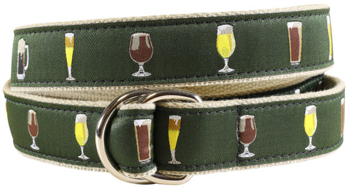 Ales & Lagers D-ring Belt