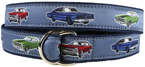 Muscle Cars D-ring Belt