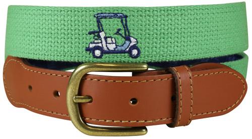 Bermuda Belt - Embroidered Golf Cart