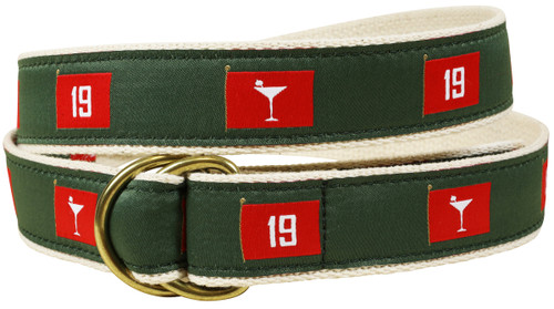 19th  Hole D-ring Belt