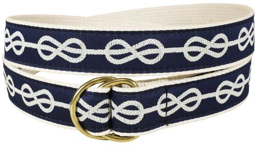 Classic Knot D-ring Belt