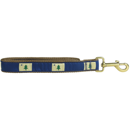 "State of Maine Flag 1"" Dog Lead"