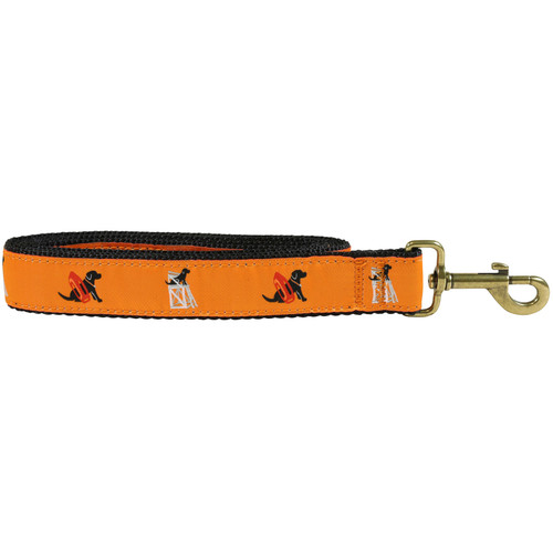 "Guard Dog (orange) 1.25"" Dog Lead"
