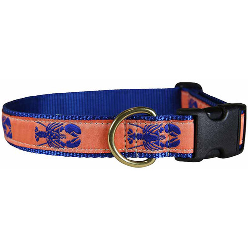 "Melon Lobster 1"" Dog Collar"